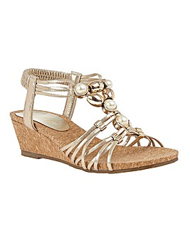 Lotus Amy Sandals Standard D Fit
