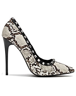 DF By Daniel Carley Studded Court Shoes