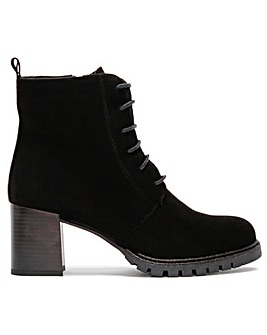Daniel Rusford Suede Lace Up Ankle Boots