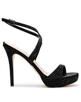 Daniel Anletti Satin Platform Sandals