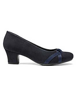 Hotter Georgia Wide Fit Court Shoe