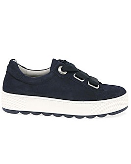 Gabor Quaint Wide Fit Platform Trainers