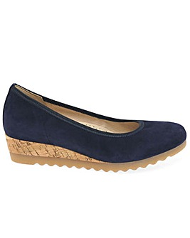 Gabor Epworth Wider Fit Wedge Shoes