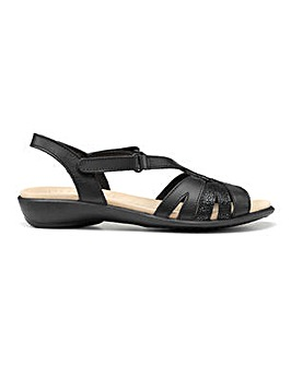 Hotter Flare Wide Fit Slingback Sandal