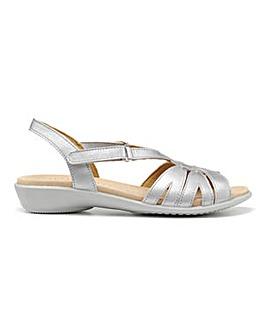 Hotter Flare Wide Fit Slingback Sandal