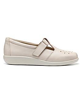 Hotter Sunset Standard Fit T Bar Shoe