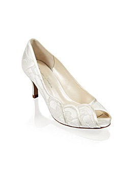 Paradox London Coleen Peep Toe Shoes