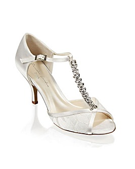 Paradox London Beth Peep Toe Shoes