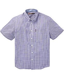 Ben Sherman Gingham Check Shirt Long