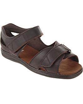 Cosyfeet Bingley Extra Roomy (3H Width) Men's Sandals