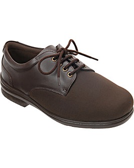 Cosyfeet Gregory Extra Roomy (3H Width) Men's Fabric Shoes