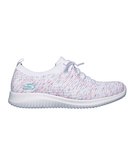 53e76b669219 Skechers Ultra Flex Happy Days Trainers