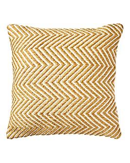 Herringbone Recycled Woven Cushion