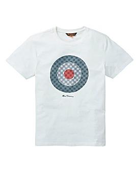 Ben Sherman Checked Target T-Shirt Long