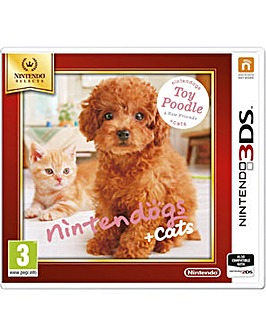 Nintendogs and Cats Toy Poodle 3DS