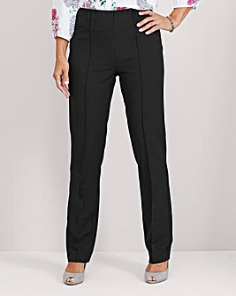 Pull On Comfort Fit Trouser Extra Short