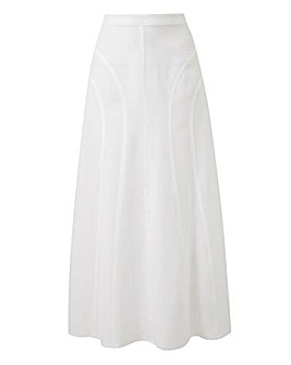 Julipa Linen Mix Skirt 33in