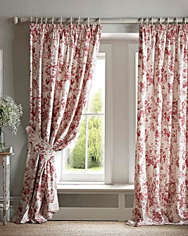 Cabbages & Roses Paris Rose Curtains