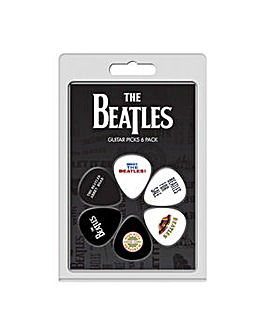 Beatles picks 6 pack