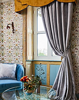 The Chateau by Angel Strawbridge Deco Heron Curtains