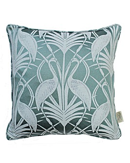 The Chateau Deco Heron Cushion