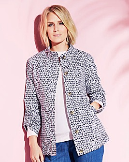 Print Lightweight Casual Jacket