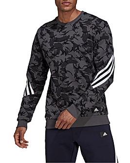 adidas FI Camo Crewneck Sweatshirt