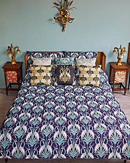 The Chateau Deco Heron Duvet Set