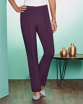 Pull-On Comfort-Fit Trousers Short