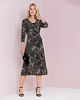 Julipa Print Jersey Wrap Dress