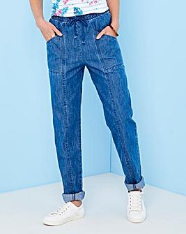 Drawcord Jean Extra Short