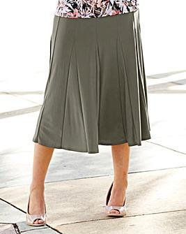 Plain Soft Jersey Skirt Length 32in