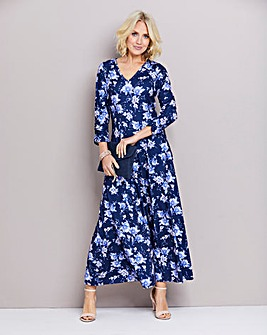 Julipa Printed Jersey Maxi Dress