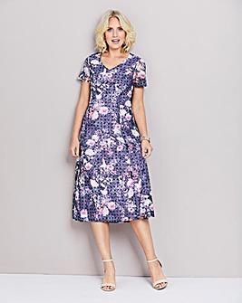 Printed Lace Dress 45