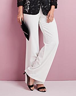 Wide Leg Crepe Trouser