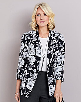 Printed Soft Lined Jacket