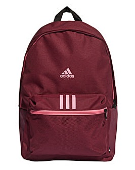 adidas Classic Badge Of Sport 3 Stripe Backpack