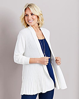 Fan Back Swing Cardigan