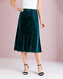 Julipa Velour Skirt