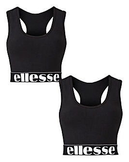 Ellesse 2 Pack Bralette Set