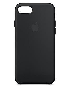 Apple iPhone 7/8 Silicone Case - Black