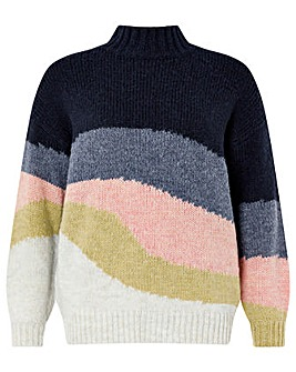 Monsoon Oriel Recycled Polyester Jumper
