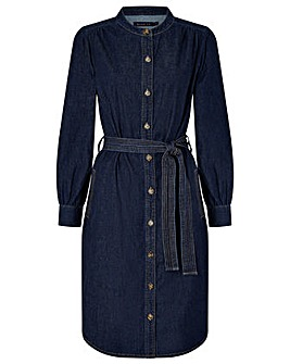 Monsoon Nieve Organic Cotton Denim Dress
