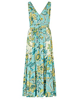 Monsoon Sarasa Printed Maxi Dress