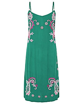 Monsoon Shai Embroidered Ecovero Dress