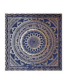Embellished Ink Fabric Canvas