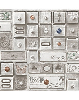 Fresco Trinket Box Wallpaper