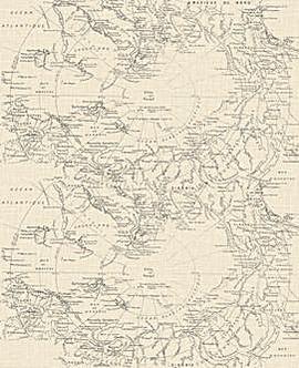 Fresco Map - Cream