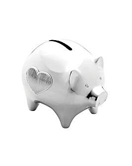 Vera Wang Baby Piggy Bank plate