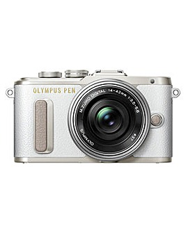 Olympus Mirrorless Camera With Lens